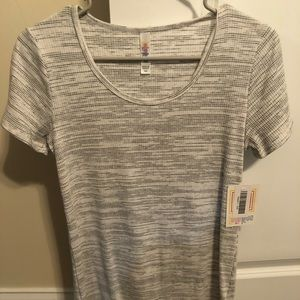 Lularoe XXS (fits a small) Top NWT. Textured.